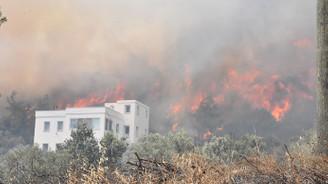 Bodrum'daki yangın kontrol altında