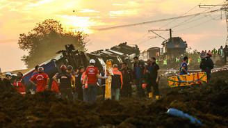 Tekirdağ'da tren kazası: 24 ölü, 124 yaralı