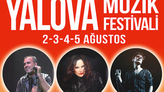 Yalova Müzik Festivali 2 Ağustos'ta