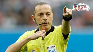 Cüneyt Çakır'a Dünya Kupası'nda önemli görev