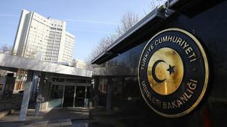 Türkiye'den ABD'nin yaptırım kararına tepki