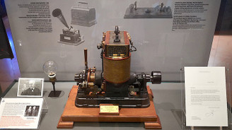 Edison'un 131 yıllık dinamosu, Rahmi M. Koç Müzesi'nde