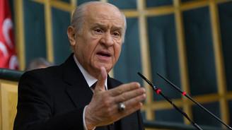 Bahçeli: Türkiye'ye parmak sallayanlara haddi bildirilmeli