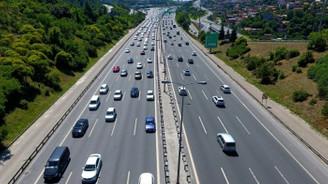 Dönüş yolundaki sürücülere son 30-40 kilometre uyarısı