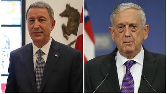 Akar, ABD Savunma Bakanı Mattis ile görüştü