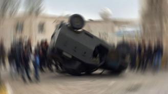 Şemdinli'de askeri araç devrildi: 2 şehit, 7 yaralı