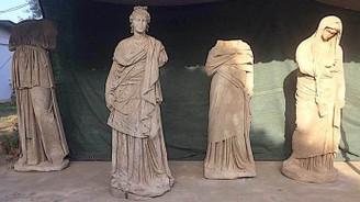 2 bin yıllık 6 heykel günışığına kavuştu
