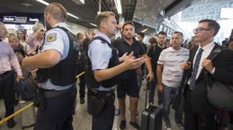 Frankfurt havalimanı tahliye edildi