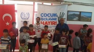 Gürsoy'dan 'çocuk işçiliğine hayır' kampanyasına destek