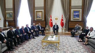 Erdoğan, TOBB heyetini kabul etti