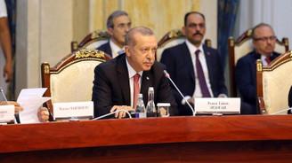 Cumhurbaşkanı Erdoğan'dan Kırgızistan'a FETÖ çağrısı