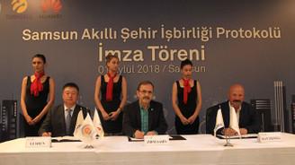 Turkcell ve Huawei'den 'akıllı şehir' için işbirliği