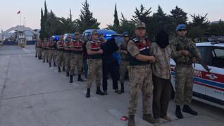 MİT Afrin'de 9 YPG'li yakaladı