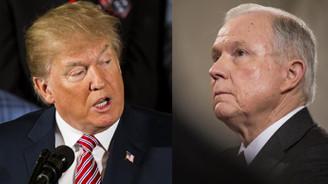 Trump'tan Sessions tepki: Benim bir Adalet Bakanım yok