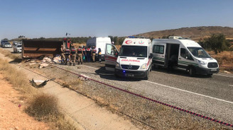 Gaziantep'te kaza: 8 ölü, 18 yaralı