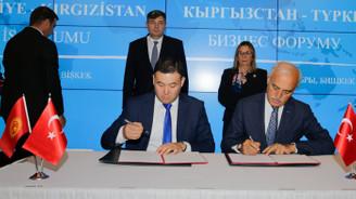 Kırgızistan'la 3 iş birliği anlaşması imzalandı