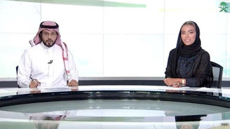 Suudi resmi kanalında ilk kez ana haberi kadın spiker sundu
