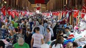Edirne'de 'Bulgar Bayramı' hareketliliği