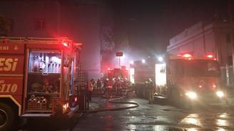 Esenyurt'ta fabrika yangını