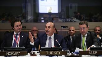 Çavuşoğlu: Irak ve Suriye'de terör tehdidi devam ediyor