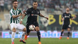 Beşiktaş Bursa'dan 1 puanla ayrıldı