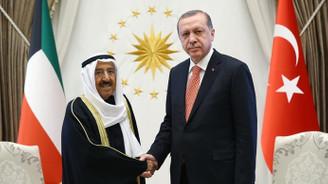 Erdoğan, Kuveyt Emiri ile telefonda görüştü