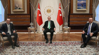 Erdoğan Almanya Dışişleri Bakanı Maas ile görüştü