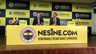 Fenerbahçe ile Nesine.com yeni sponsorluk anlaşması imzaladı
