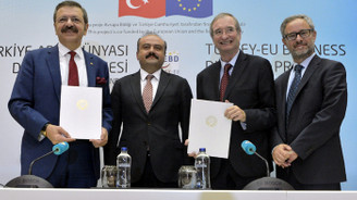 Türkiye-AB İş Dünyası Diyaloğu Projesi tanıtıldı