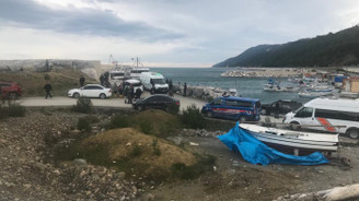 Sinop açıklarında balıkçı teknesi battı