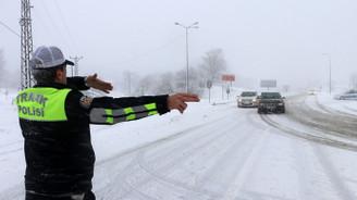 D-100 kara yolu ulaşıma açıldı