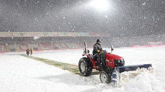 Boluspor-Galatasaray maçı ertelendi