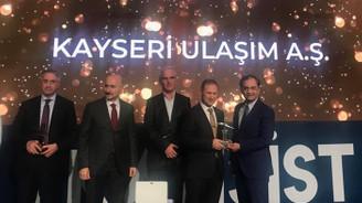 Kayseri Ulaşım, verimlilikte Türkiye birincisi oldu