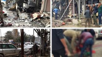 Münbiç'te patlama: ABD askerleri yaralandı