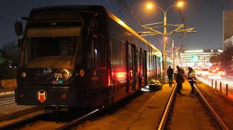 İstanbul'da tramvayda arıza