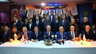 Mersin'de MHP'den istifa eden meclis üyeleri İYİ Parti'ye geçti