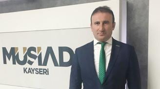 MÜSİAD Kayseri'de yönetim değişti