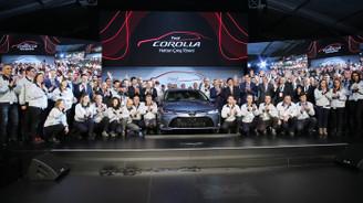 Yeni Corolla, Toyota'nın Sakarya fabrikasında hattan indi