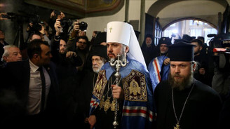Moskova Patrikhanesi'nden Fener Rum Patriği Bartholomeos'a tepki