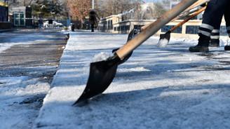 Ankara için kar yağışı uyarısı