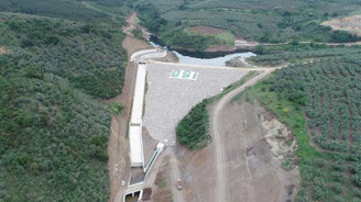 Bursa Mudanya Yalıçiftlik Barajı işletmeye hazır
