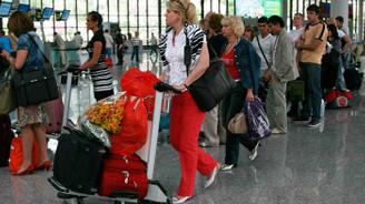 Antalya'da, turizm rekoru