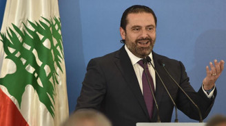 Lübnan Başbakanı Hariri istifa edeceğini açıkladı