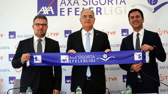 AXA Sigorta, Efeler Ligi'ne isim sponsoru oldu