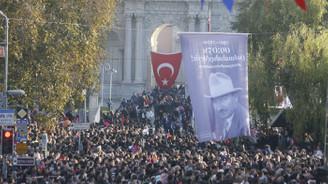 Büyük Önder Atatürk tüm yurtta anılıyor