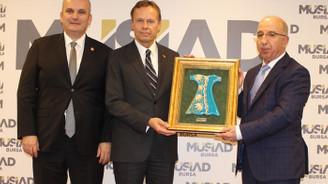 Litvanya'dan Bursa'ya ekonomik işbirliği çağrısı