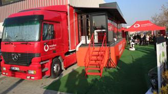 Vodafone Business Dijitalleşme Tırı başkentte