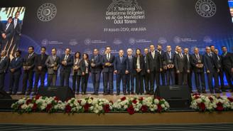 Teknoloji Geliştirme Bölgeleri ve Ar-Ge Merkezleri Ödülleri sahiplerini buldu