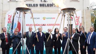 Bursagaz, Keles'i doğalgaz ile buluşturdu