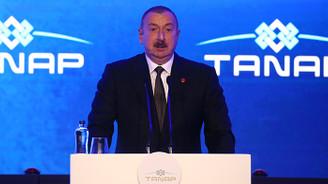 Aliyev: TANAP, Türkiye-Azerbaycan ve diğer komşu halklara faydalı olacak